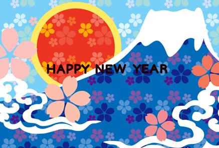 お花がいっぱい富士山サムネイル画像